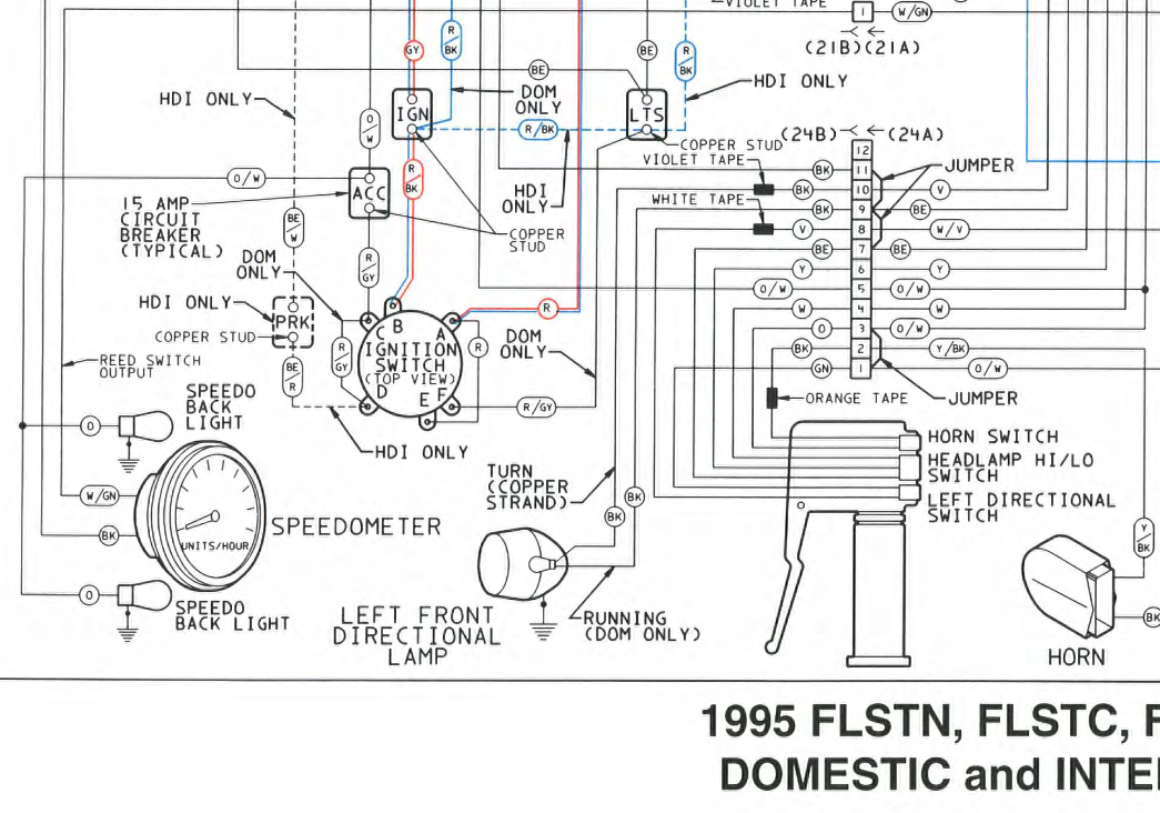 Harley Softail Wiring Diagram 1992 Fhstc