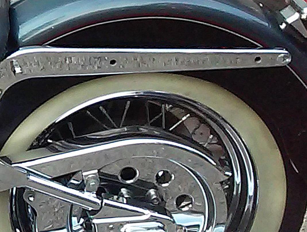 Fender strut bolts, chrome - Harley Davidson Forums