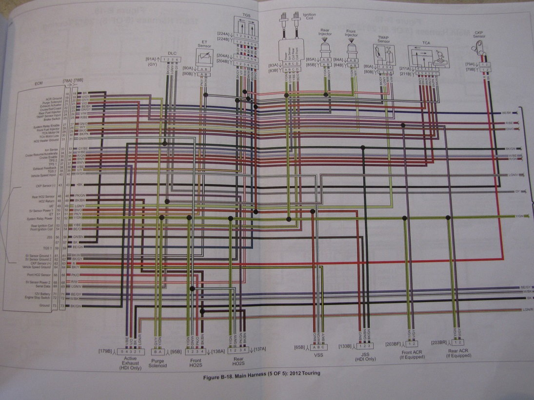 1999 Harley Davidson Flhp Wiring Diagram Here Are The Schematics Good Luck Thats An Ambitious Project 1095x821