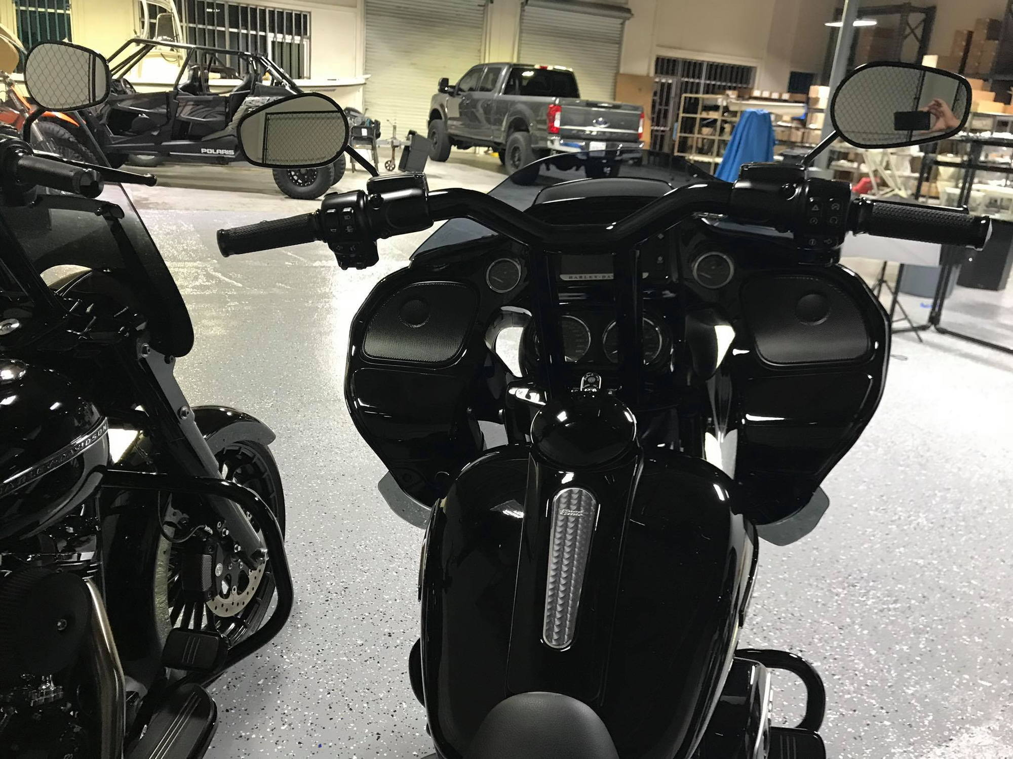 Riser And Bar Set Up Info On Road Glide Harley Davidson Forums