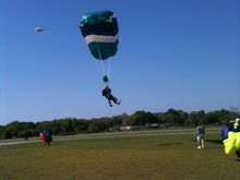 Skydiving with daughter