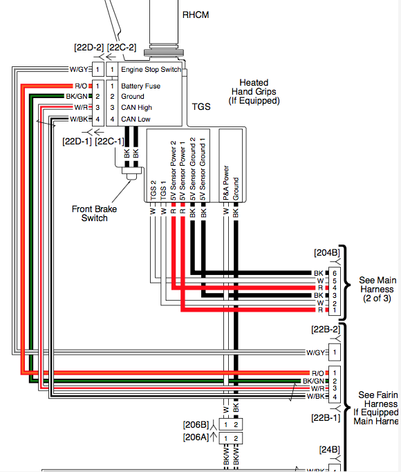 Heated Grip wiring for 2020 RGS - Harley Davidson Forums | Harley Heated Grips Wiring Diagram 2014 |  | Harley Davidson Forums