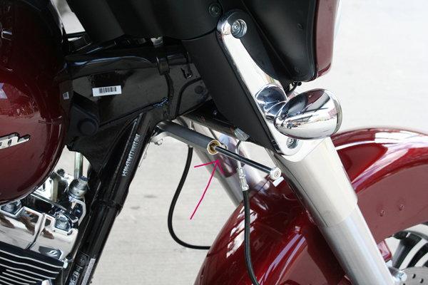 anyone use a Steering damper? - Harley Davidson Forums