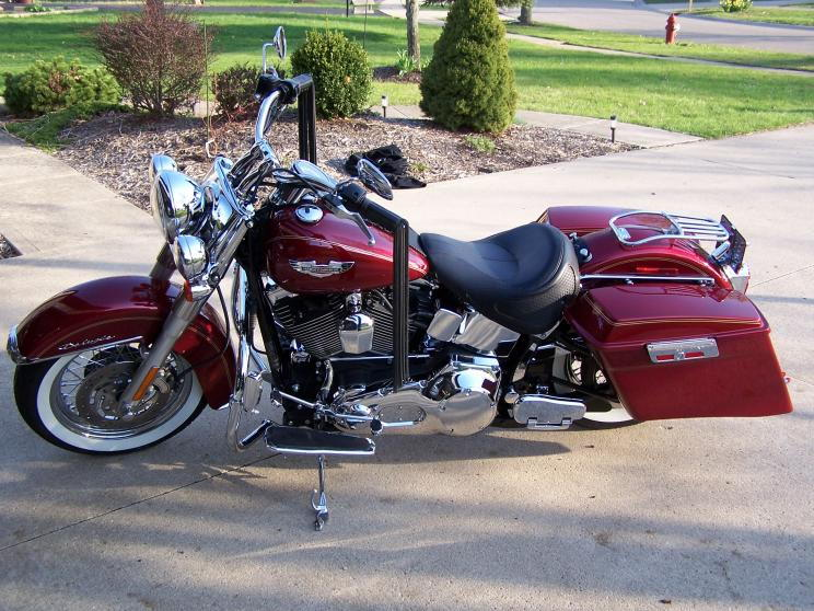 Harley Davidson Softail Deluxe Tour Pack