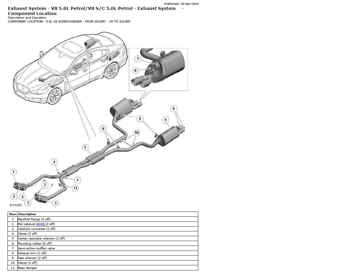 5 0 N A  Exhaust System - Jaguar Forums