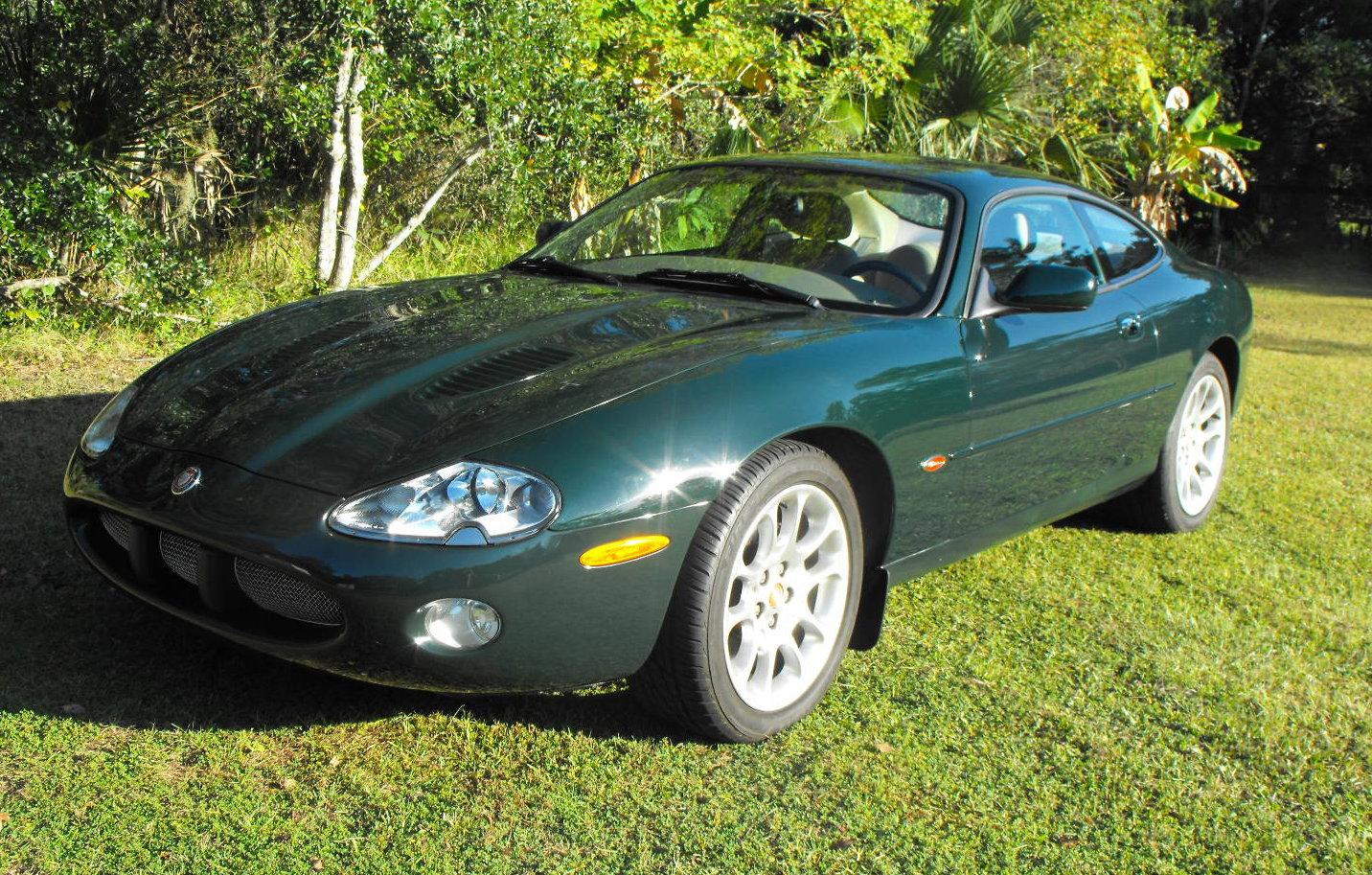 2001 Jaguar XKR Coupe BRG / Tan - Jaguar Forums - Jaguar ...
