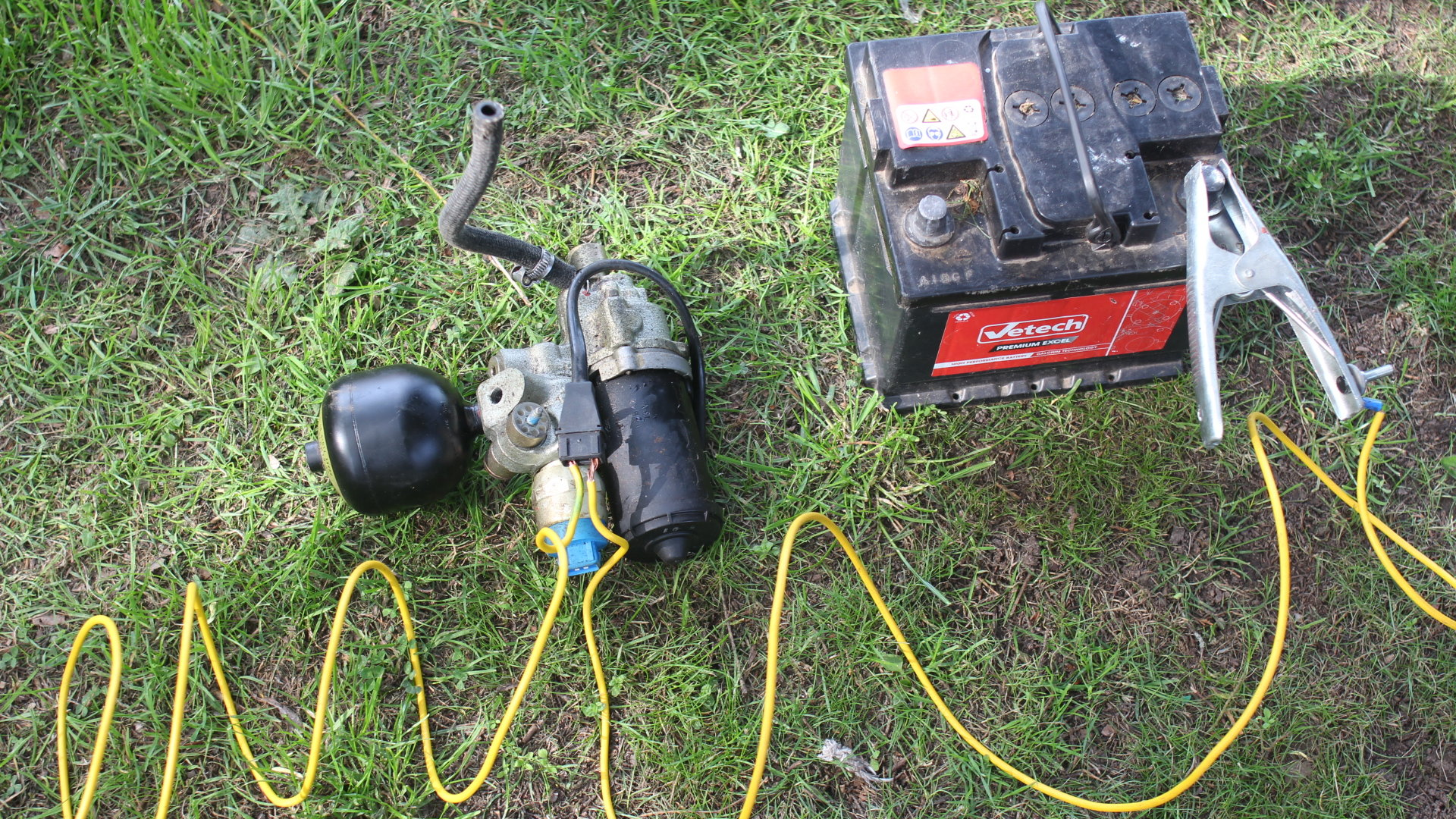 ABS Brake Pump Conundrum is there a way of making this work