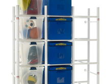 Bin Warehouse home and office organization shelving for totes bins and boxes!