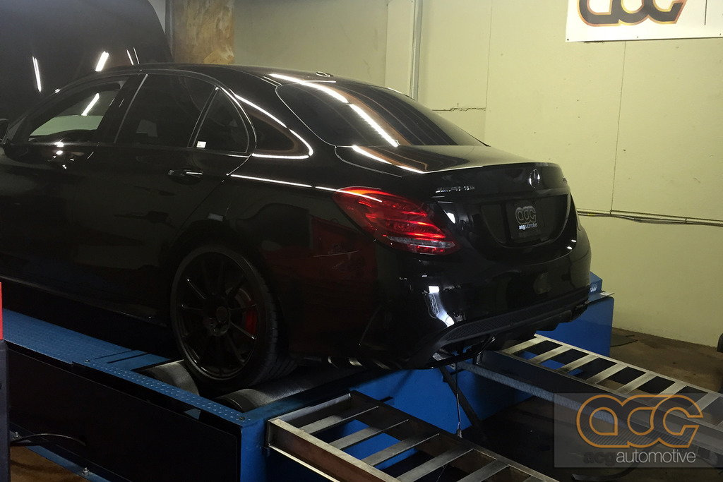 AMR Performance Tuned: C63 AMG w/ Nitrous: A little bit of
