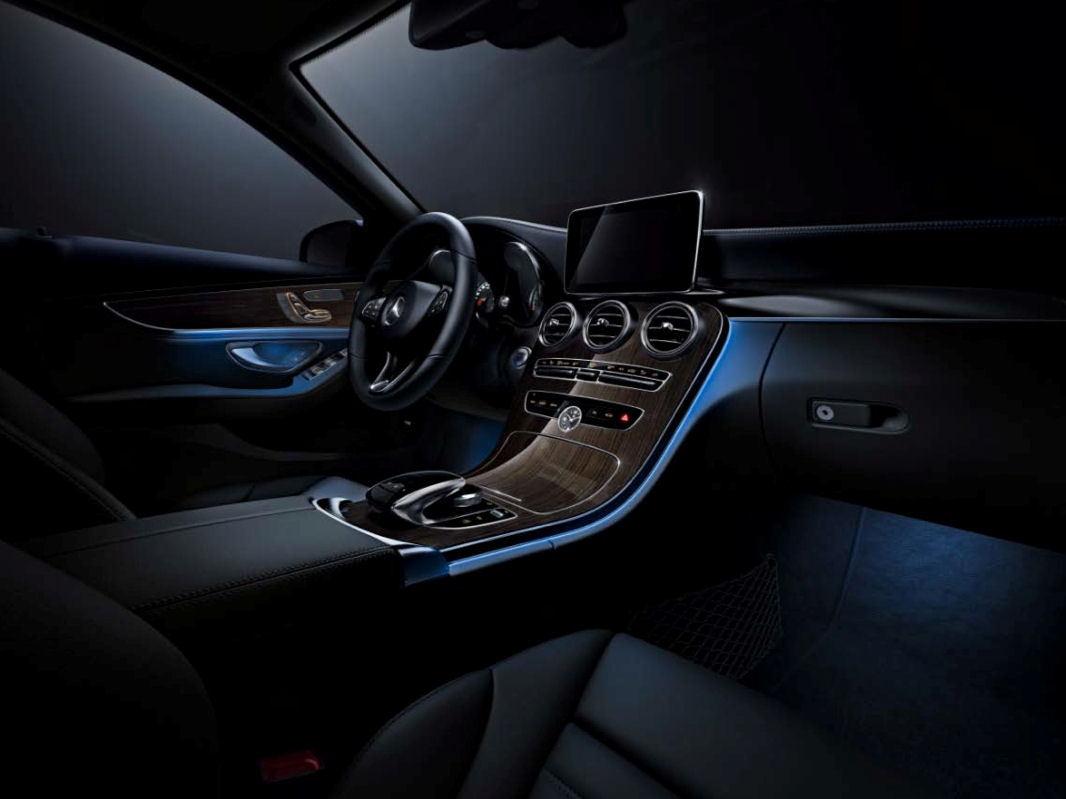 Mercedes C300 Interior Lights