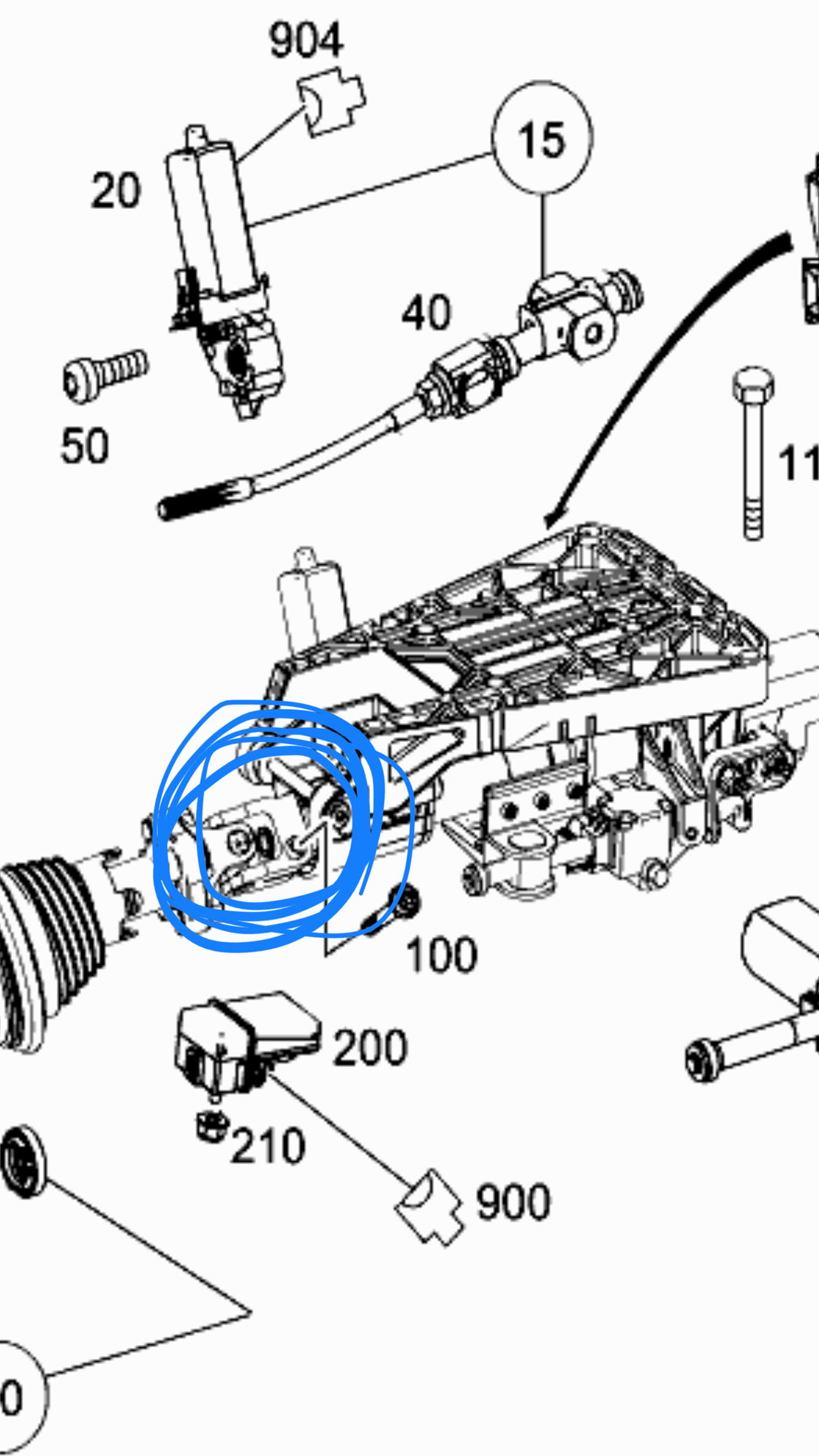 W204 Steering Wheel Lock Remove To Repair Diy Forums Toyota Oemstyle Aftermarket Fog Light Wiring Diagram Balancing Act Okay So I Was Able Fix The Situation Now Im Putting Everything Back Together And Unable Stick Assembly Into