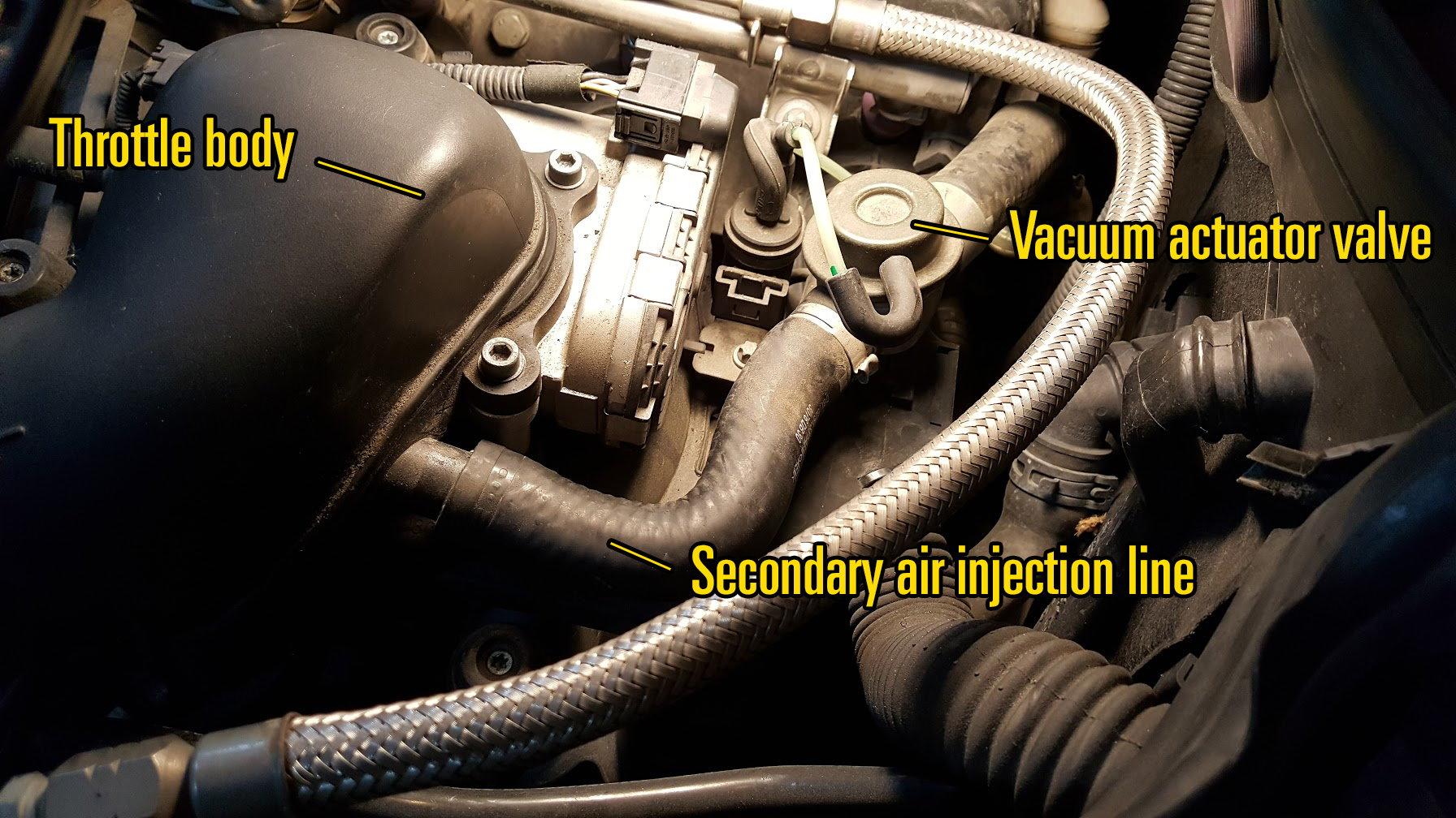 P0410 Fix - Secondary air injection (smog pump) - MBWorld