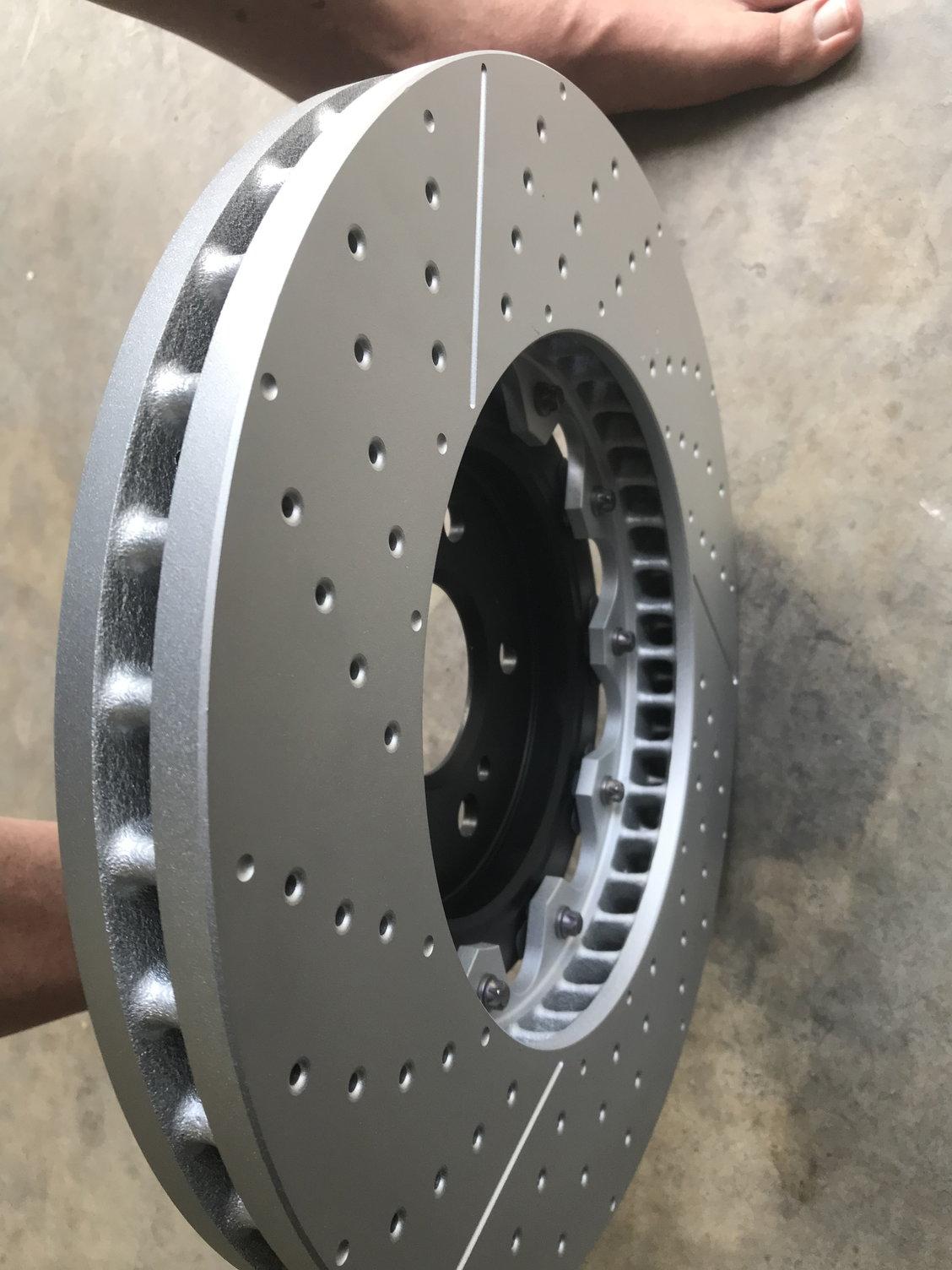 Front Brake Kit Rotors w// Jurid Pads For Mercedes W221 S550 Base 07-12