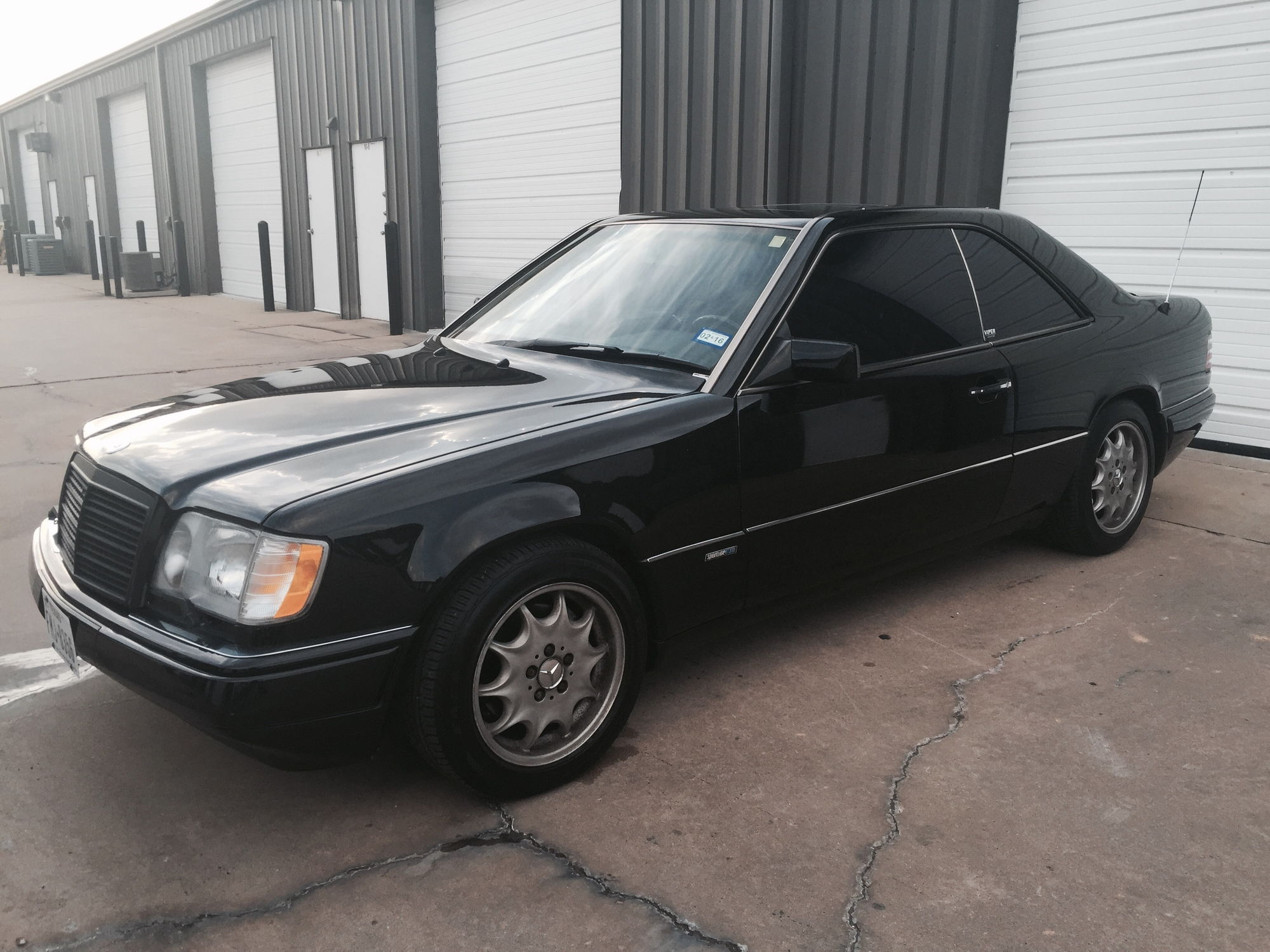 1994 Mercedes Benz E320 Coupe Sportline Package Black on ...