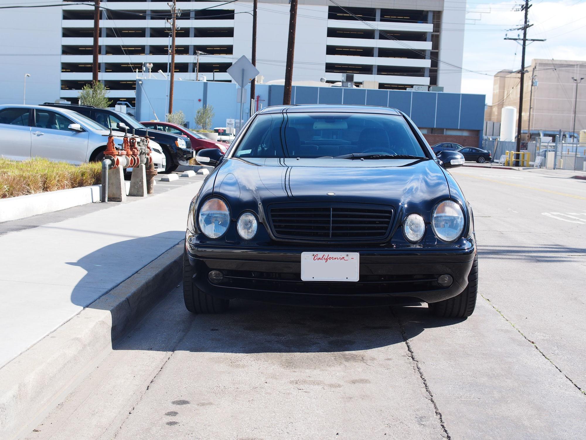 2001 mercedes benz clk 55 amg coupe black california garage kept rare 18 wheels kl mbworld. Black Bedroom Furniture Sets. Home Design Ideas