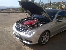CLK55 Engine Cover