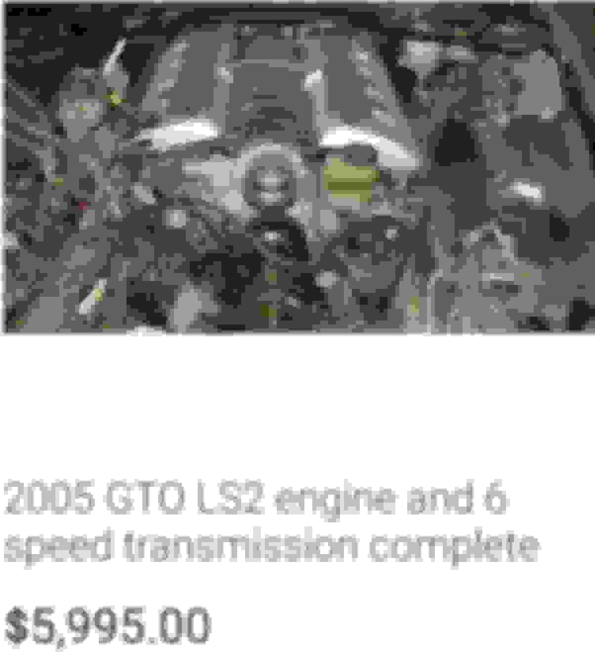 Ls2 or other v8 engine swap? - MyG37