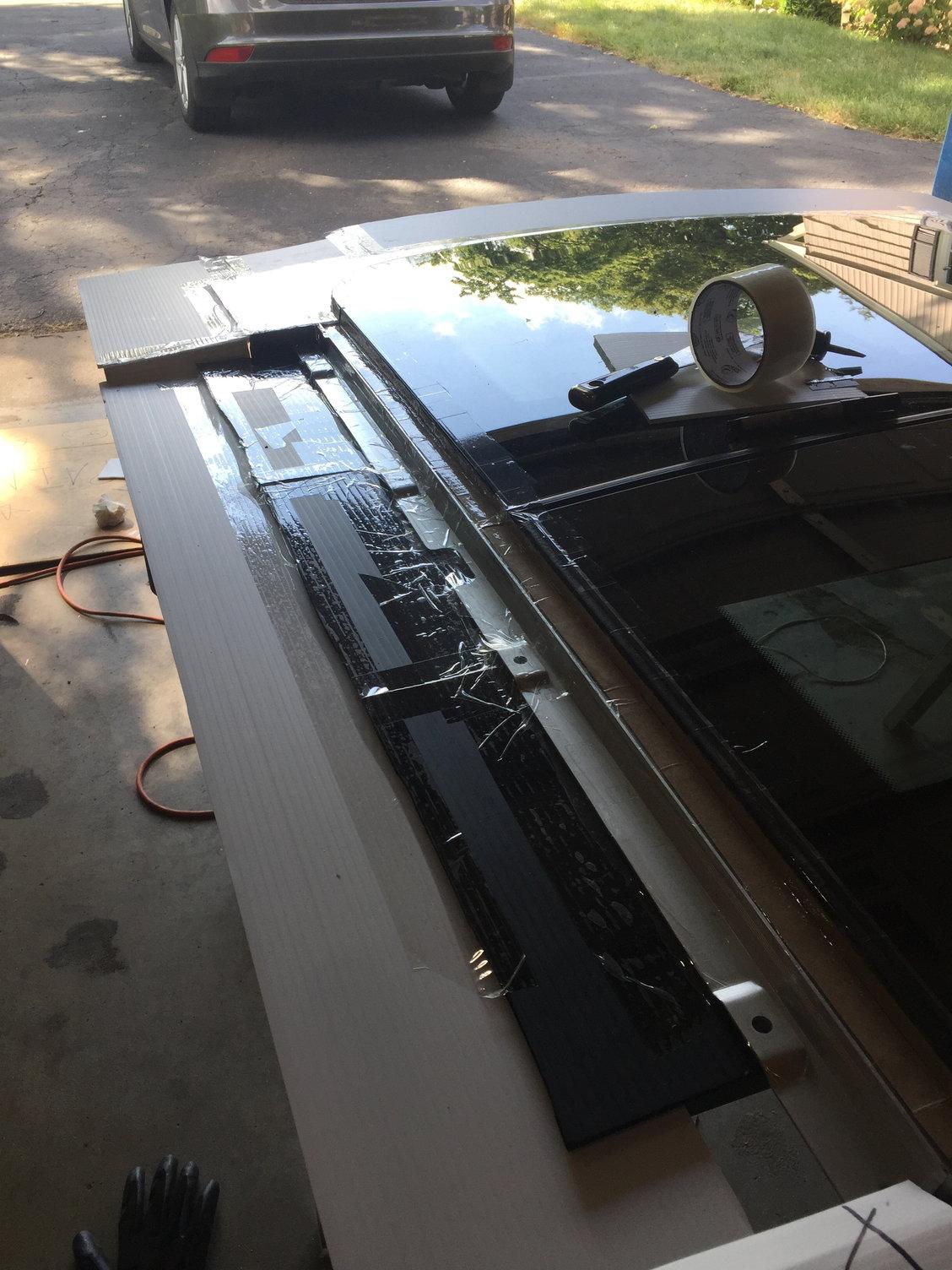 R56 Attempt at a Carbon Fiber Sunroof Plug - North American