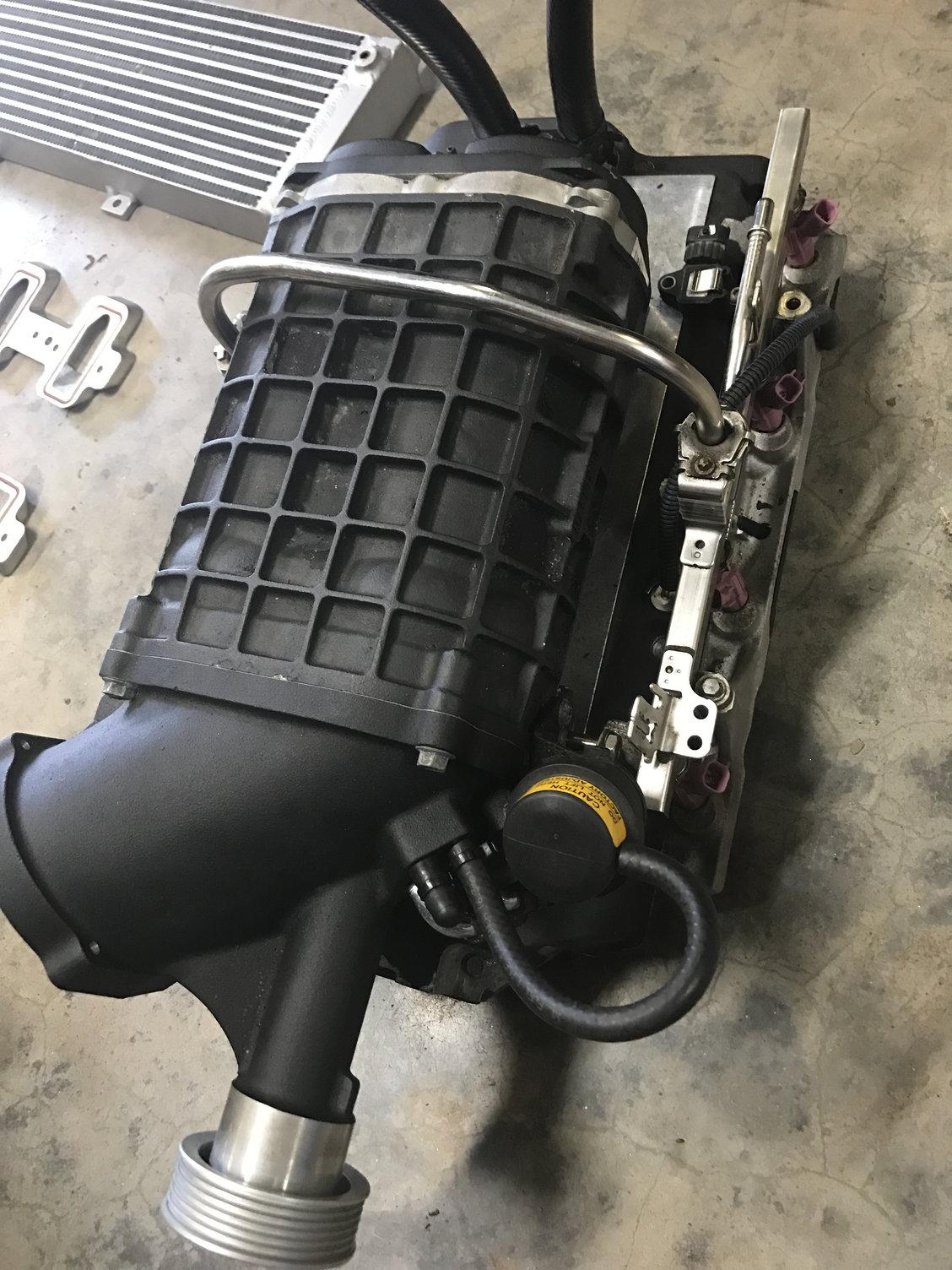 Magnuson Intercooler Pump