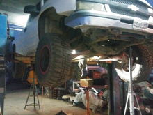 Working on my 4l60e