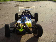 th scale rc car SERPENT W KUSTOM GRAPHIX RC PAINTED BODY 036