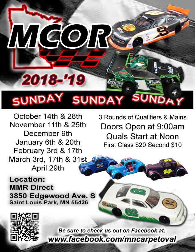 Mn Carpet Oval Racing Mmr Direct R C Tech Forums