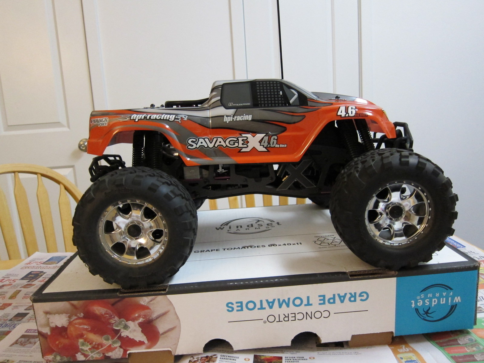 HPI Savage XL 4 6 RC nitro monster truck -like new - RCU Forums