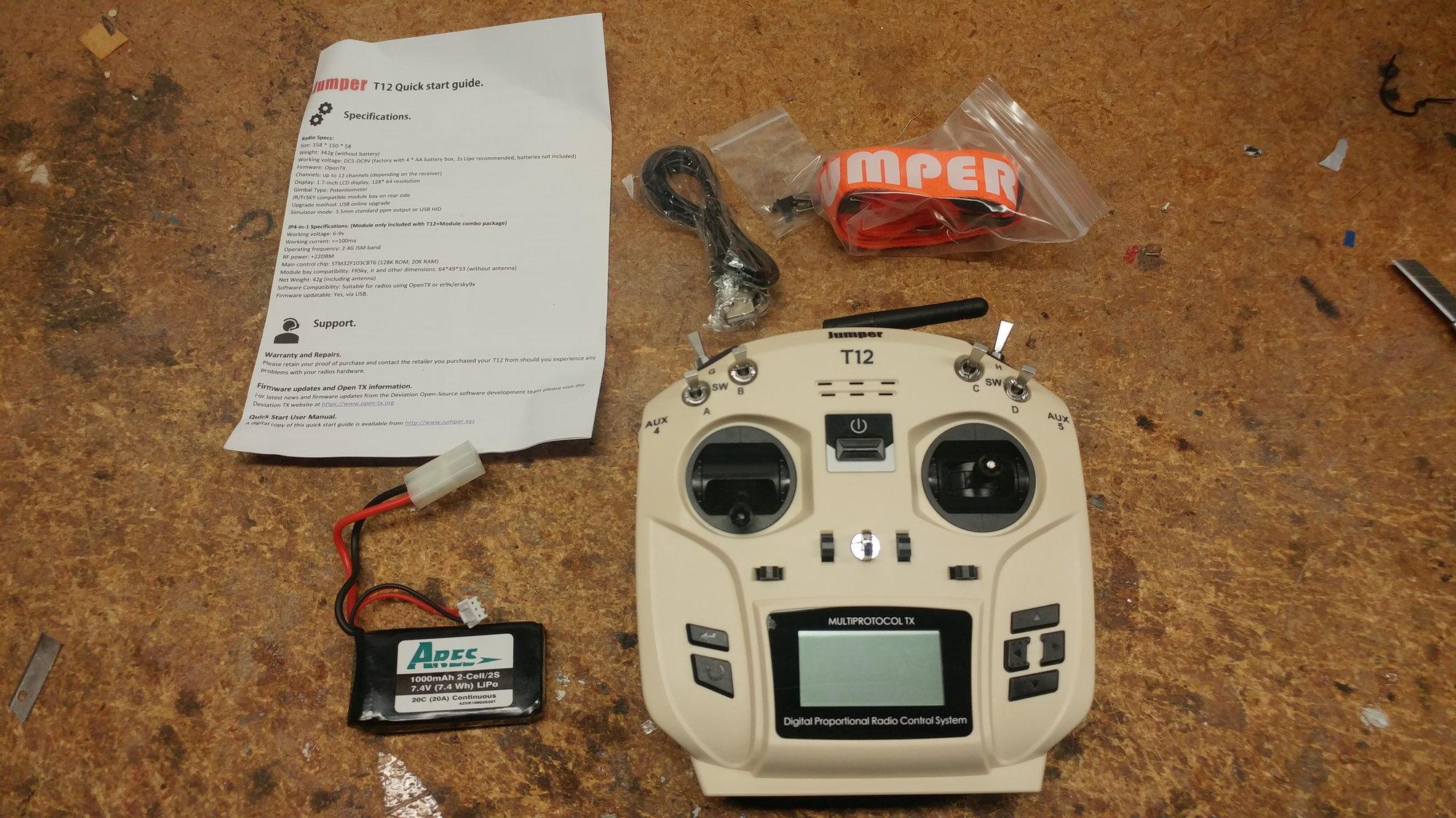 NIB Jumper T12 Transmitter - RCU Forums