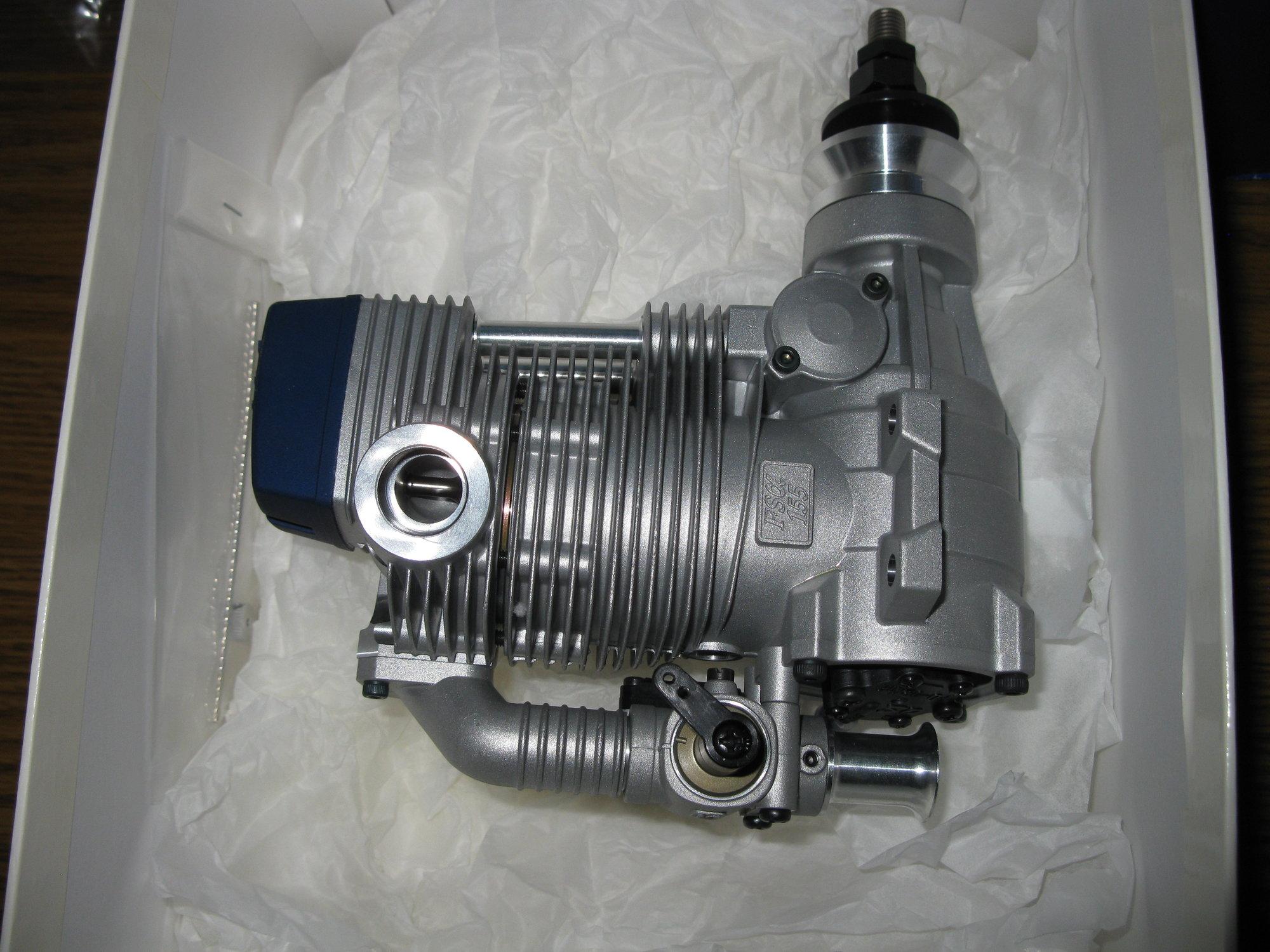 FS155-a Alpha Series 1.55 4-Stroke Pumped Engine 35430 O.S