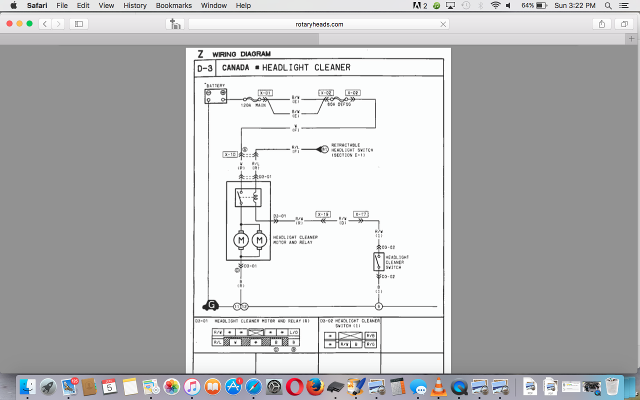 headlight washer intercooler sprayer rx7club com here is the wiring diagram thanks for the help
