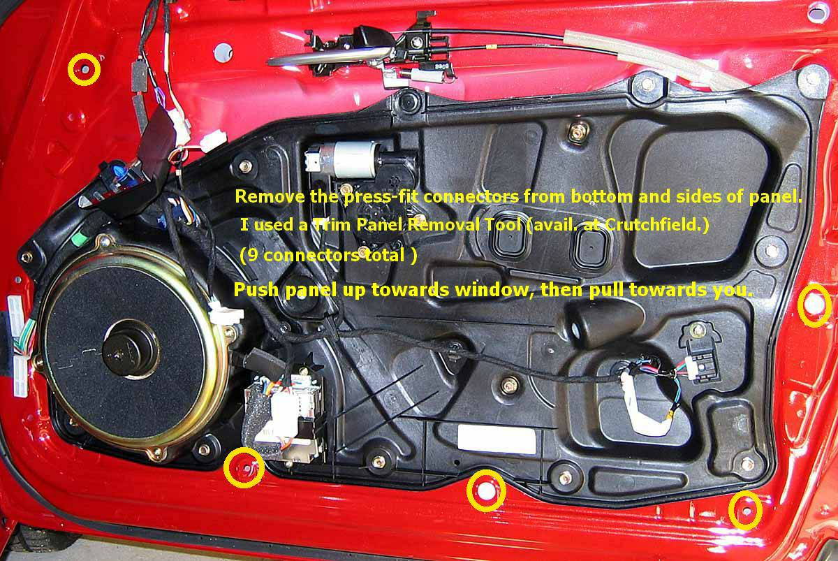 Slightly Loose Exterior Door Handle On Series 2 Rx8 2005 Mazda Rx 8 Engine Diagram Parts Is Here 2010 Front Mechanisms And The Attached Discussion Another Rx8club Thread Found By Running A