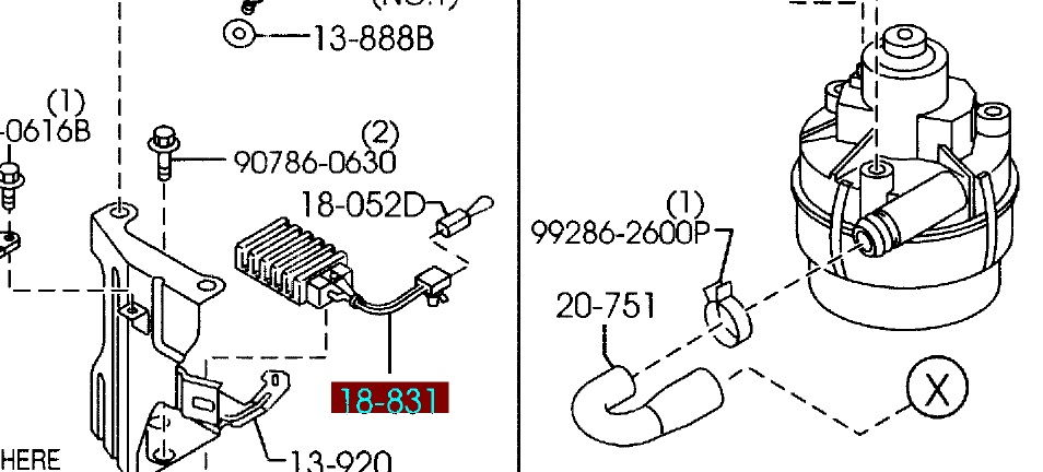 2005 Mazda 3 Fuse Box Diagram besides Hyundai Elantra Air Conditioning System Parts Service Manual also Panasonic Radio Wiring Diagrams furthermore Mazda Car Radio Wiring Connector in addition Battery Wiring Safety 188165. on mazda rx8 fuse box
