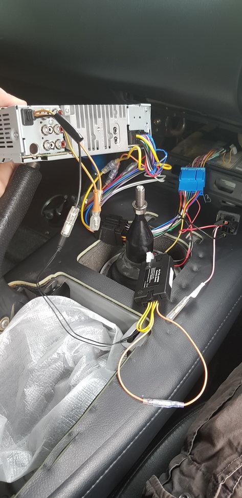 Alpine install - cde195bt - no dash controls - S2KI Honda S2000 Forums
