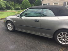 Saab 2005 66,000 9-3 Turbo convertible.  For sale