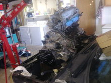 Installing used motor
