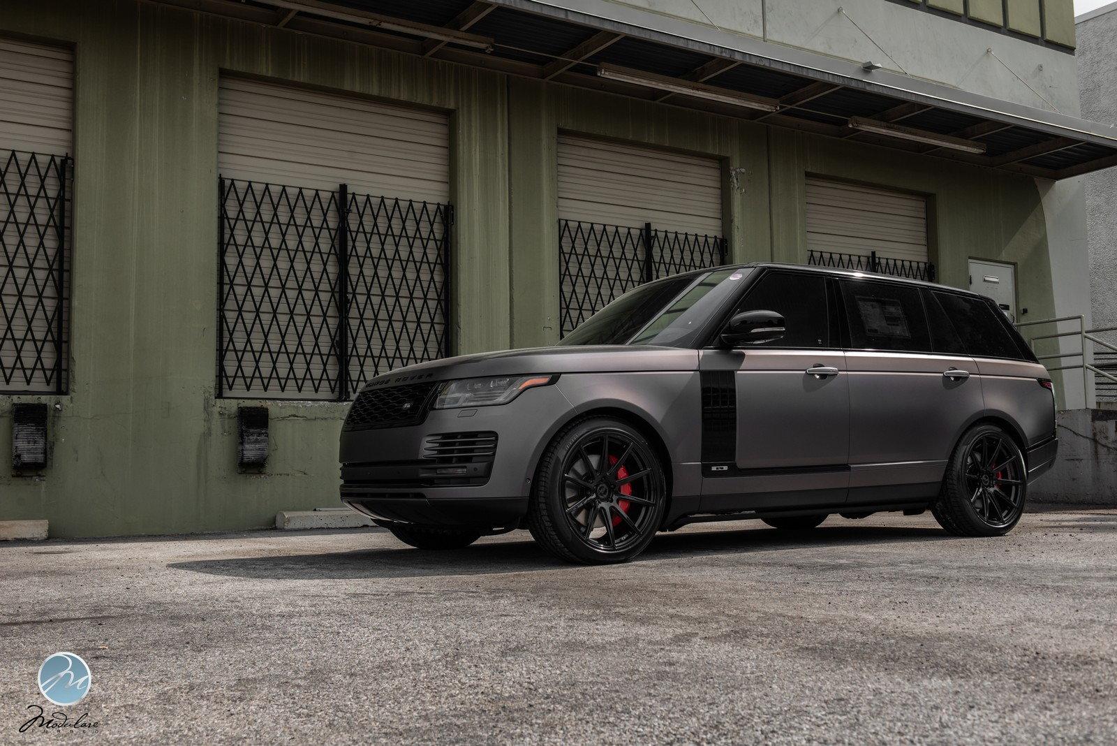 "How To Measure Wheel Base >> 2018 Range Rover LWB Matte Grey | 22"" Modulare B15 - 6SpeedOnline - Porsche Forum and Luxury Car ..."
