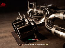 Fi Exhaust for Ferrari 458 Speciale (Ultimate Race Version) – valvetronic muffler.