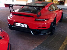 One of the first customer owned Porsche 911 GT2 RS was spotted in Qatar this week.