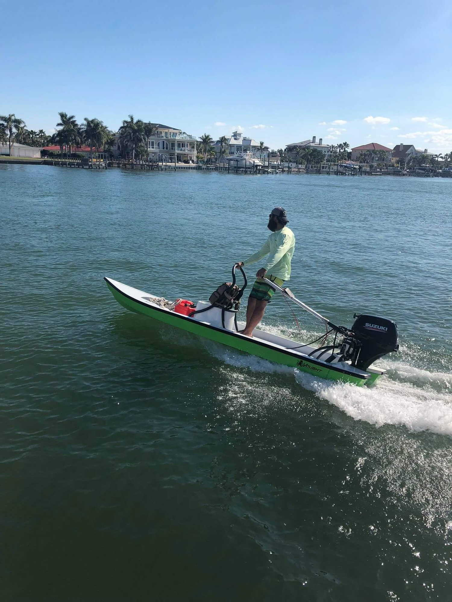 Stolen Production Demo Boat - Pinellas Park, FL - The Hull