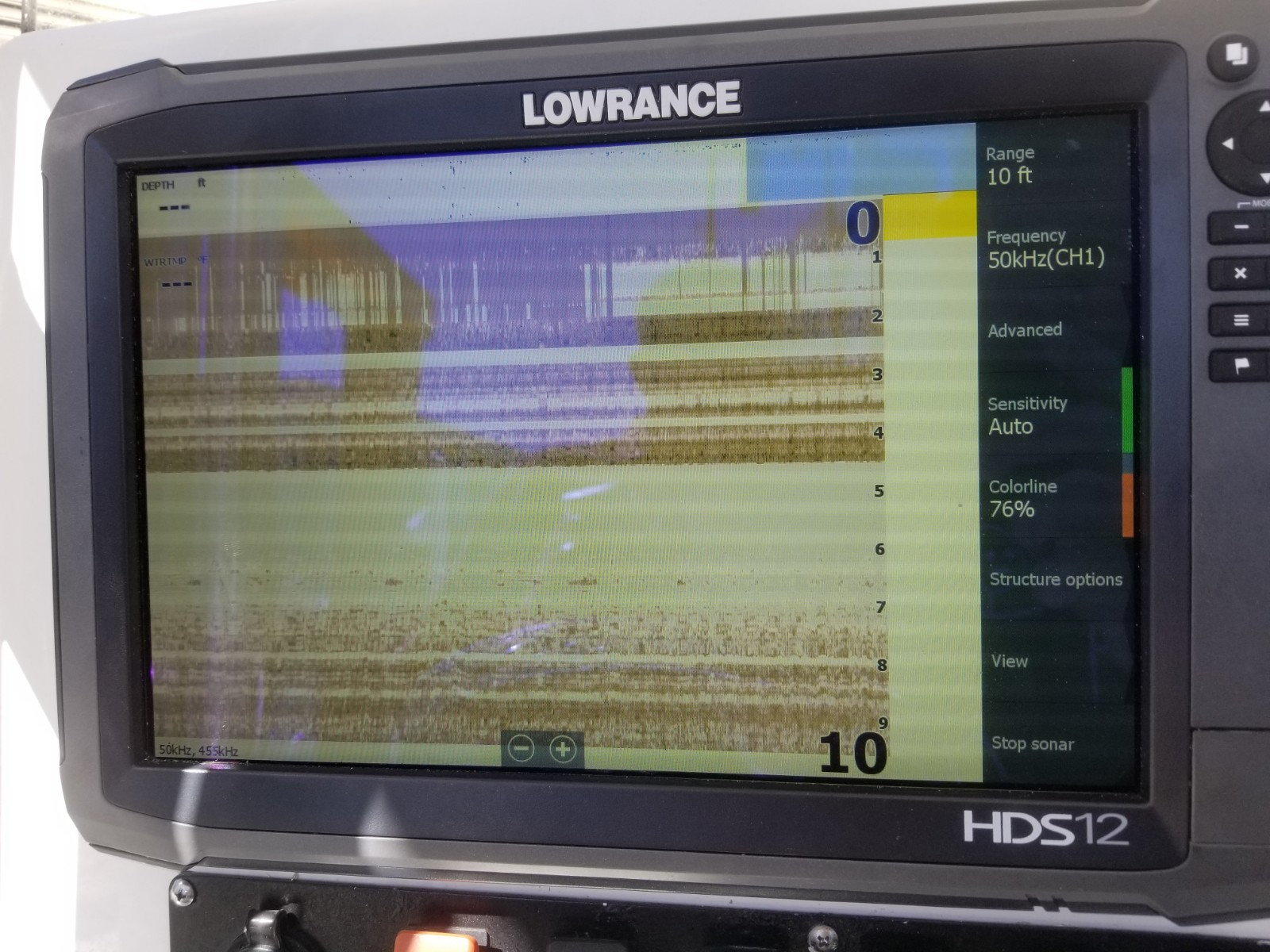 HDS12 Gen3, lost my Sonar Settings after StructureScan install - The