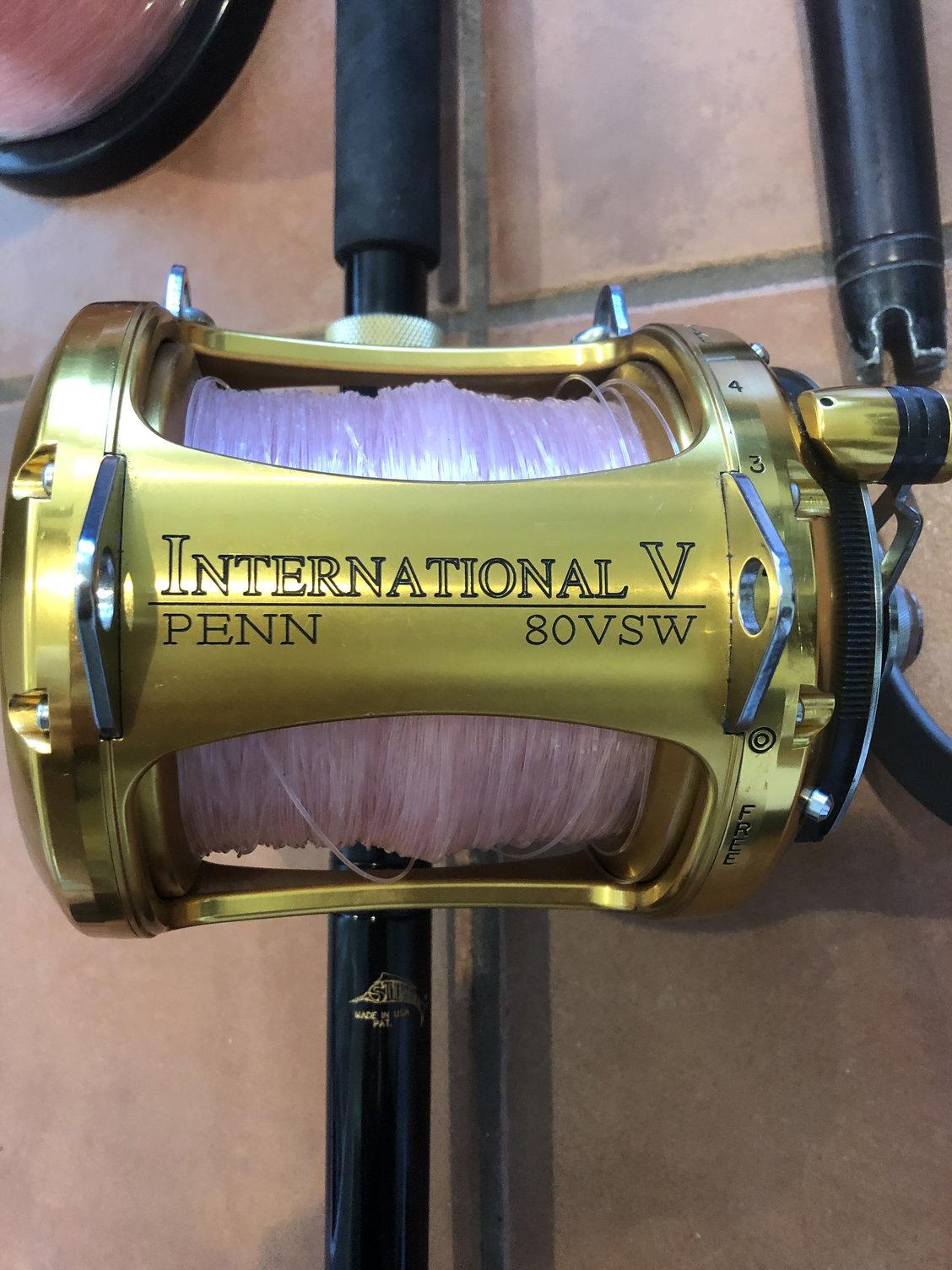 Penn International 80VSW 2 speed reel on ocean master - The