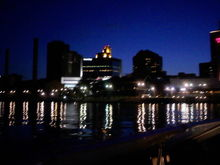 downtown  toledo  at  1 am