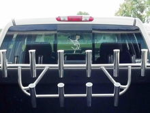 10 rod holder on truck