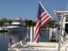 Stainless Steel Rocket Launcher Flag Poles