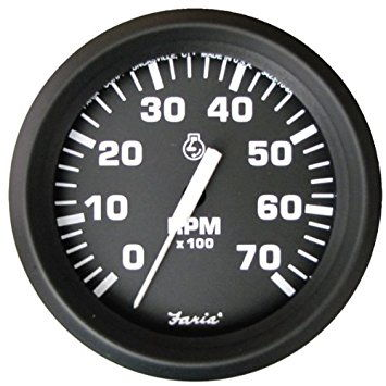 Where does a tachometer get its signal? Mercury 150 Outboard