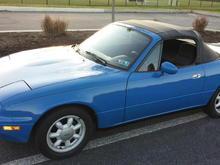 Laguna Blue built by McCully Racing Motors