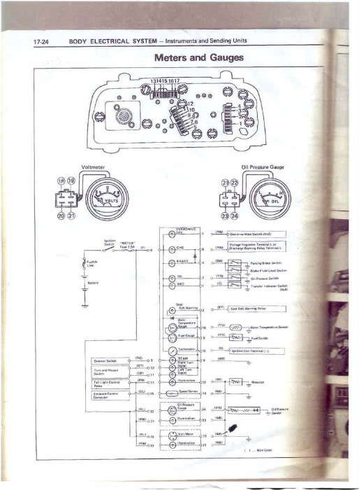 Something Like This Would Be Great Is For An 83: 1980 Toyota Truck Wiring Diagram At Hrqsolutions.co