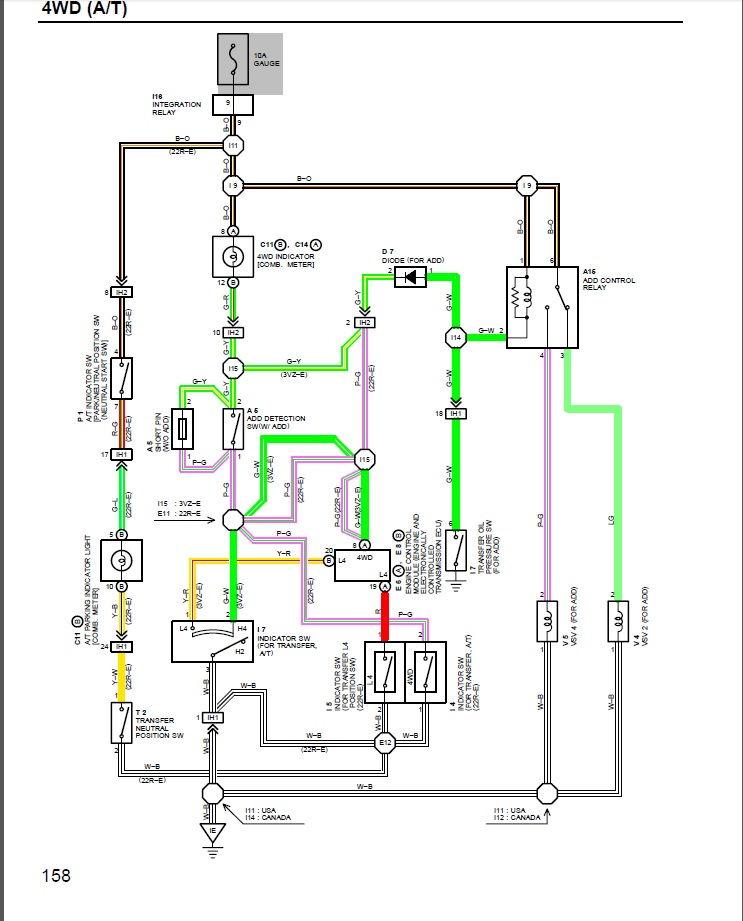 95 4runner 4wd 3vze   U0026quot 4wd Selector Mode Switch  Module
