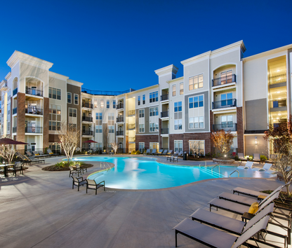 Elegant Image Of 400 Belmont Apartments In Smyrna, GA