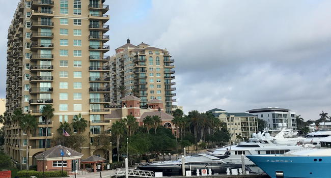 Image Of Sunrise Harbor In Fort Lauderdale Fl